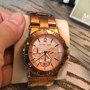 🔥Sale🔥Michael Kors Women's Rose Gold Wrist Watch